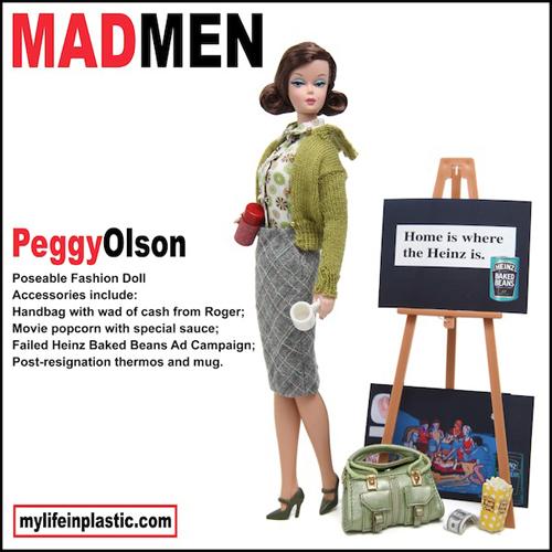 Peggy Olson Barbie Doll