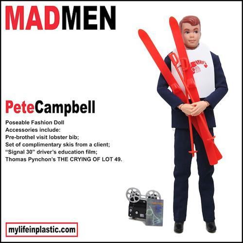 Pete Campbell Ken Doll