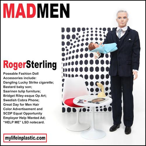 Roger Sterling Ken Doll