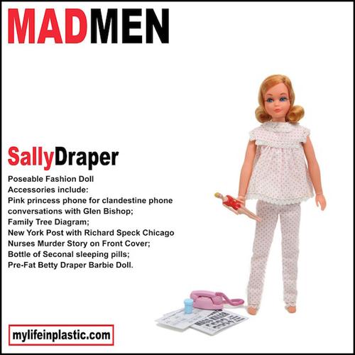 Sally Draper Barbie Doll