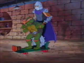 Shredder X Michaelangelo Obscene