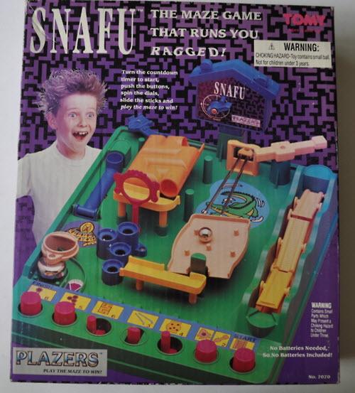 Snafu Maze Game