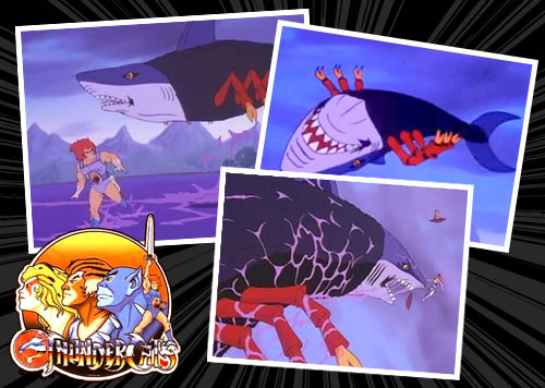 Black Widow Shark - ThunderCats
