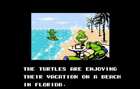 TMNT Beach Vacation