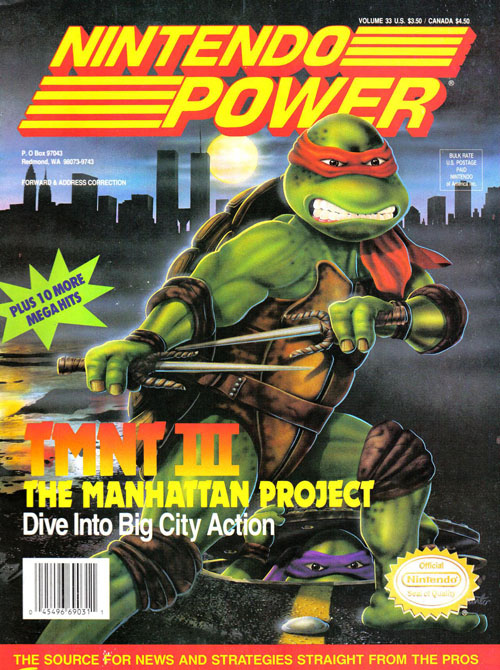 Nintendo Power TMNT