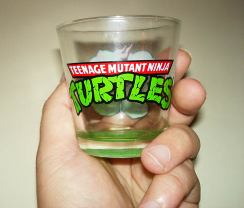 TMNT Shot Glass