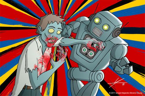 Zombie vs. Robot