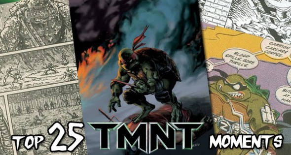 25 Greatest Moments in TMNT History