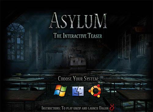 Asylum Interactive Teaser