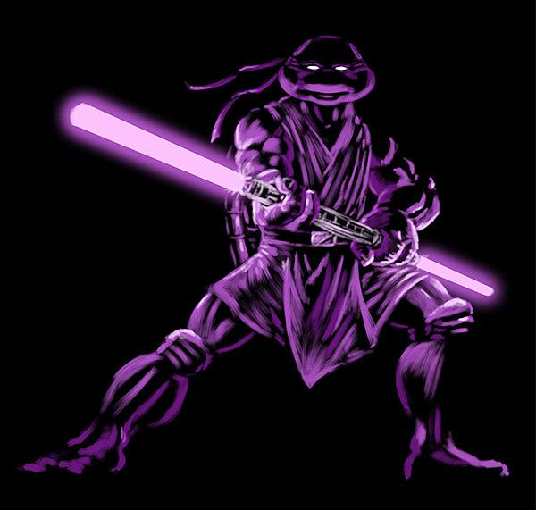 Jedi Donatello