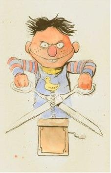 Ernie as Chucky
