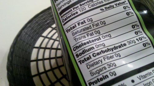 Fluffy Stuff Nutrition Facts