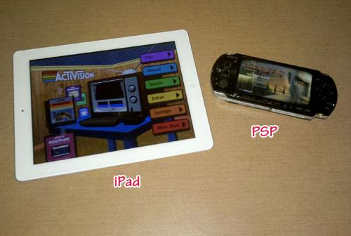 iPad & PSP