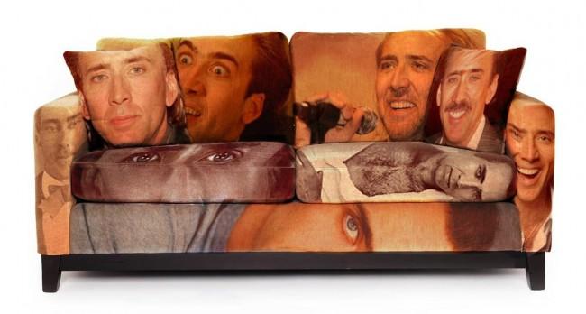 Nicolas Cage Couch