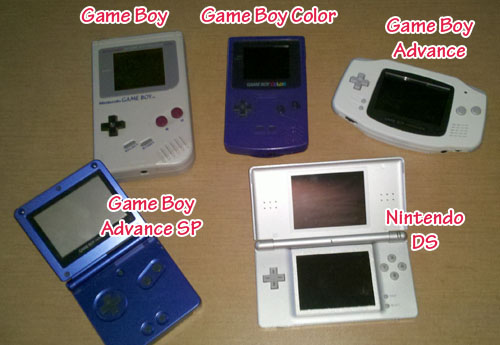 Nintendo Game Boys