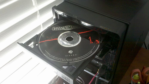 Phantasmagoria CD-ROM