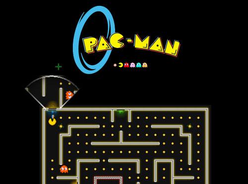 Pacman + Portal