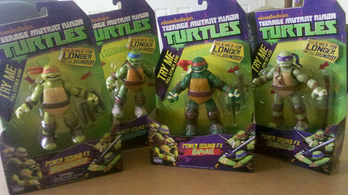 Power Sound FX TMNT