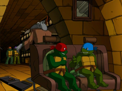 Raph & Leo Get Away with it