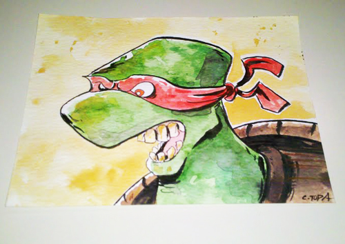 Ninja Turtle by Christopher Tupa