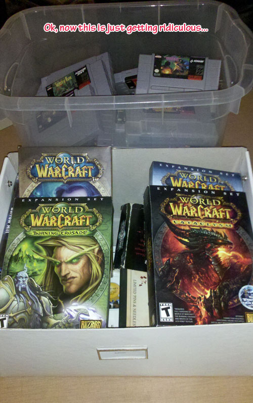 More games in boxes...