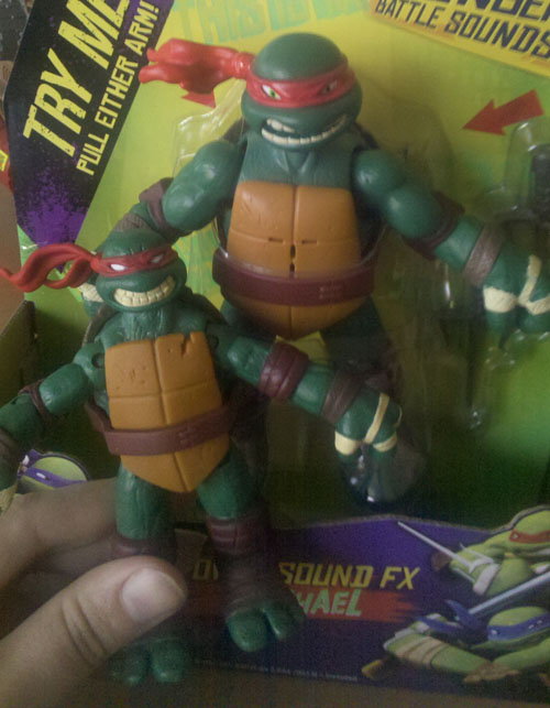 Basic Raph vs. Power Sound FX Raph