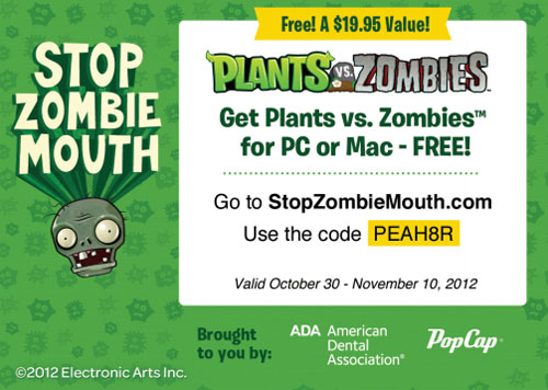 Stop Zombie Mouth!