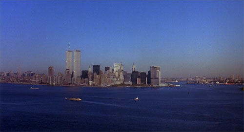 The World Trade Center in the opening shot of 'Teenage Mutant Ninja Turtles'