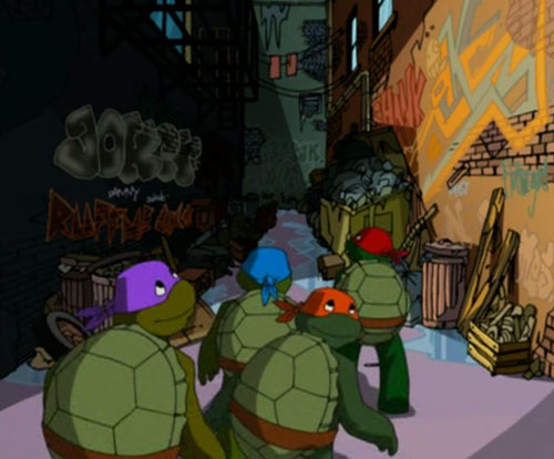 Turtles Alley