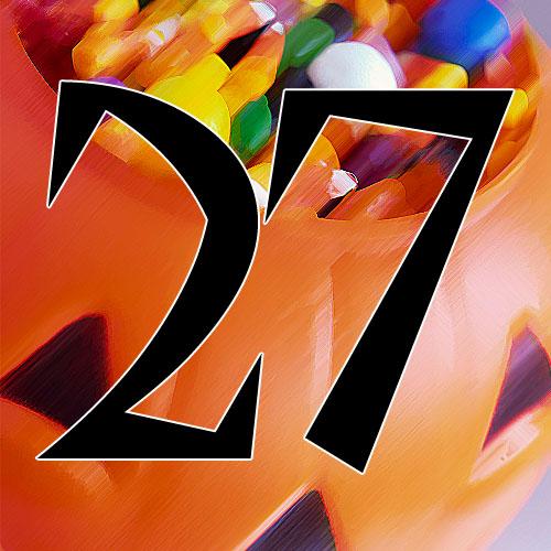 27 Days Til Halloween
