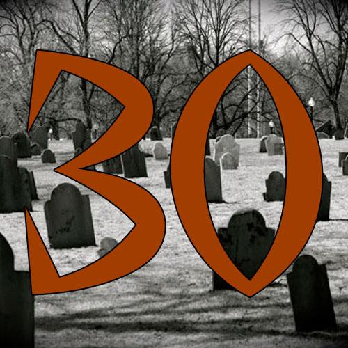 30 Days 'Til Halloween