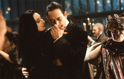 Gomez & Morticia Dancing