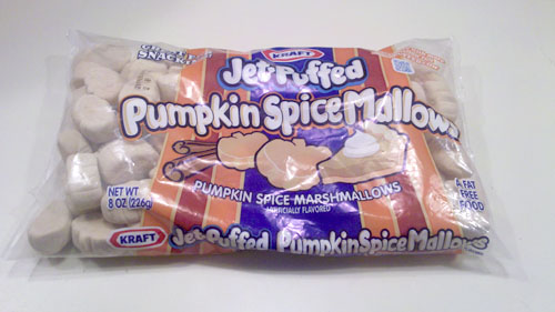 Bag of Jet-Puffed Pumpkin Spice Mallows