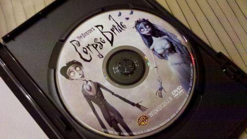 Corpse Bride DVD