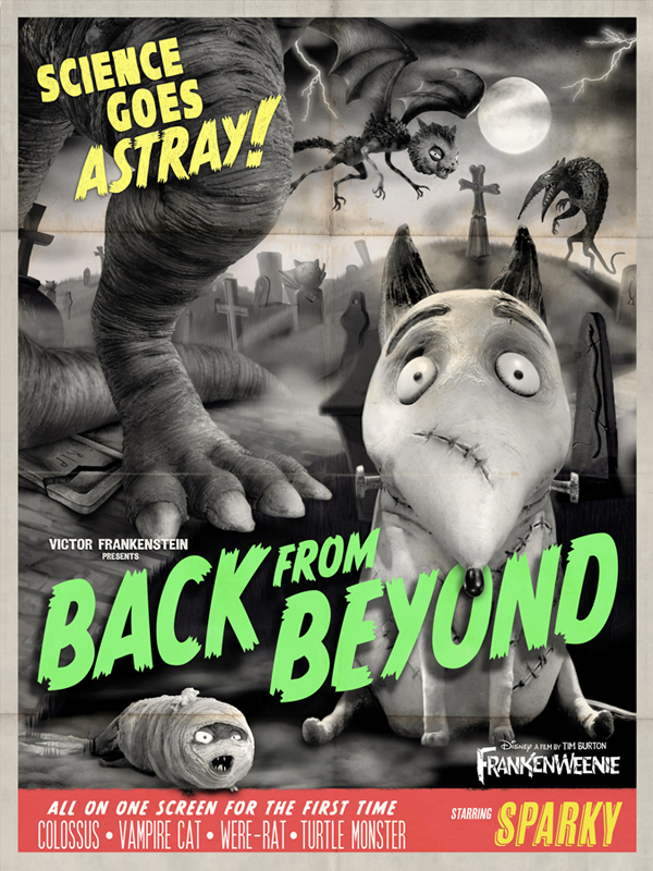 Frankenweenie - Back from Beyond