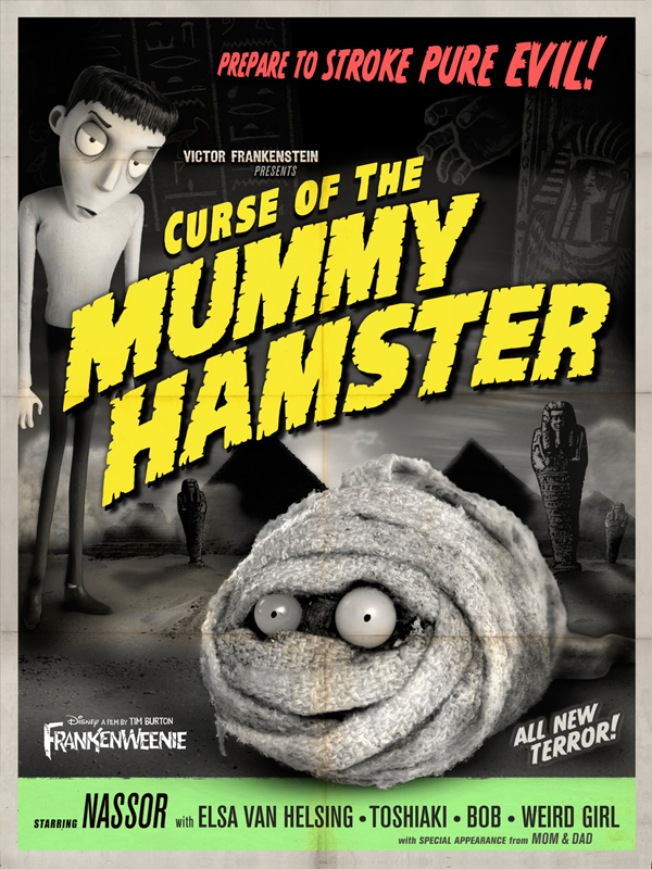 Frankenweenie - Curse of the Mummy Hamster