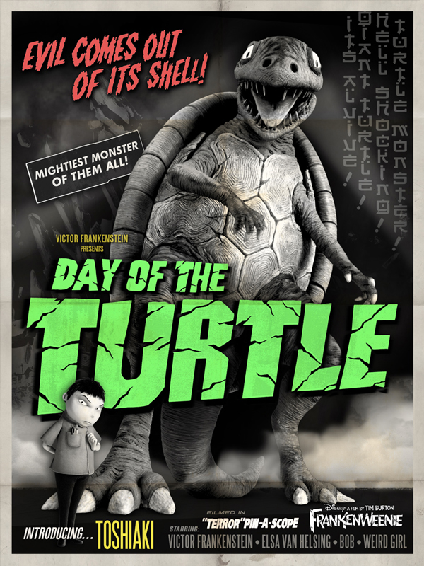 Frankenweenie - Day of the Turtle