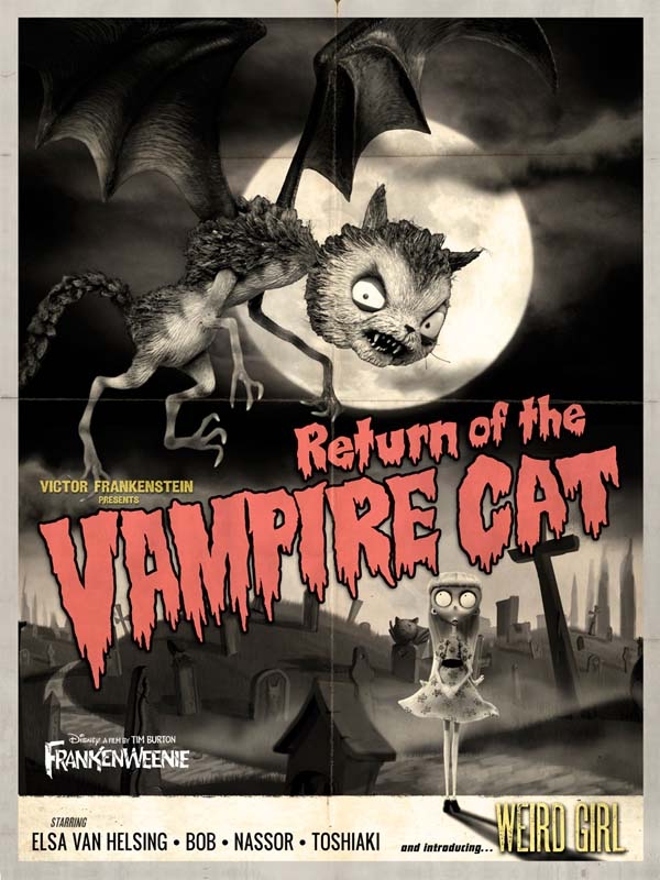 Frankenweenie - Return of the Vampire Cat