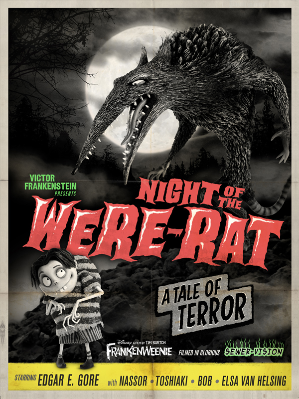 Frankenweenie - Night of the Were-Rat