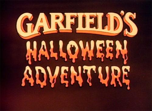 Garfield's Halloween Adventure - Titles