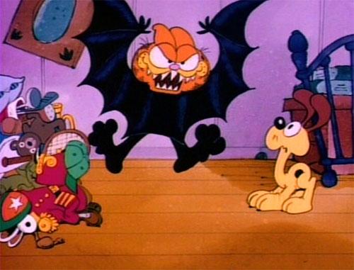 Garfield's Halloween Adventure - Vampire Bat