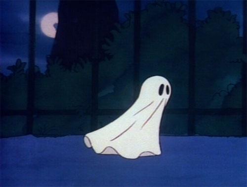 Garfield's Halloween Adventure - Ghost