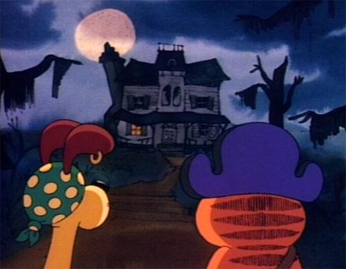 Garfield's Halloween Adventure - Haunted House