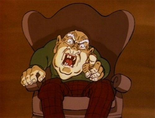Garfield's Halloween Adventure - Old Man