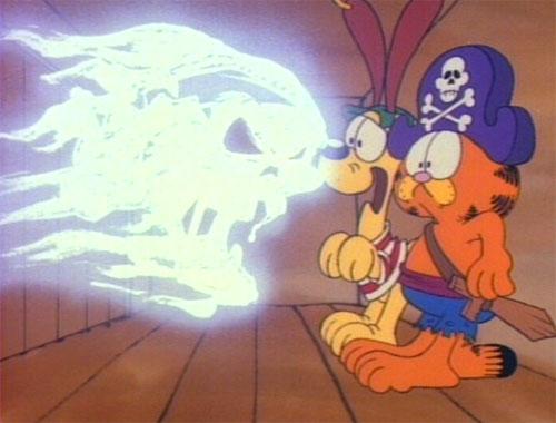 Garfield's Halloween Adventure - Pirate Ghosts