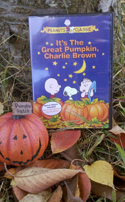 It's the Great Pumpkin, Charlie Brown - Front Cover