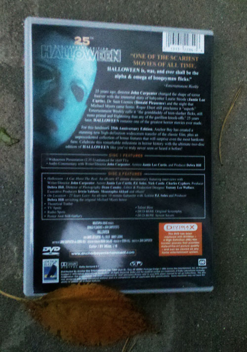 Halloween 25 - Back Cover