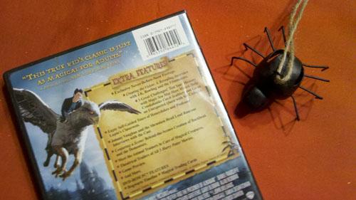 Harry Potter and the Prisoner of Azkaban - Back Cover