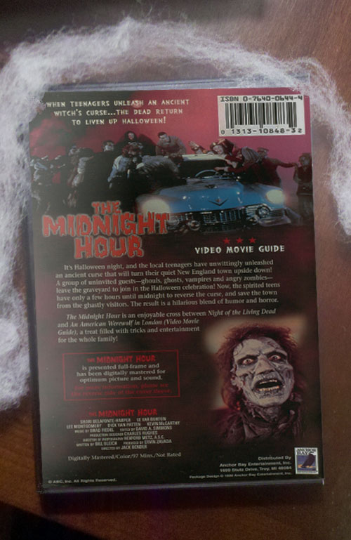 The Midnight Hour - Back Cover