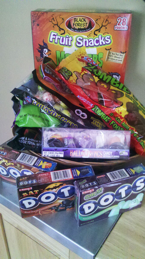 Halloween Candy Mountain